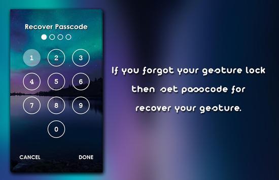Gesture Lock Screen screenshot 2