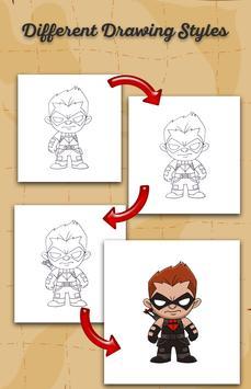 How To Draw Cartoon Characters screenshot 1