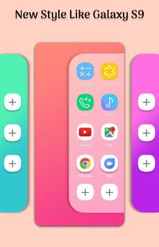 Edge Screen Galaxy S9 Style poster