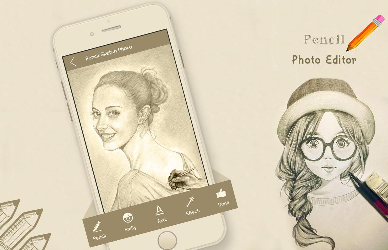 Pencil sketch photo editor poster pencil sketch photo editor screenshot 1