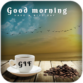 Good Morning GIF 2018 icon