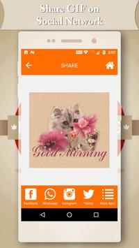 Good Morning GIF 2018 apk screenshot