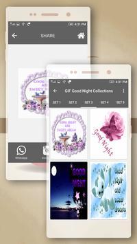 Good Night GIF 2018 Collection apk screenshot