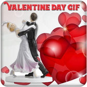 Valentine Day GIF 2019 icon