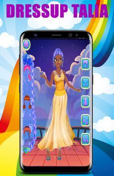 Dress Up Talia Princess apk screenshot