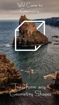 Geometry Shapes Photo Editor poster