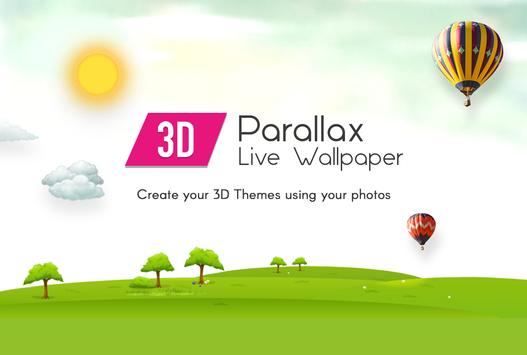 3D Parallax Wallpaper poster