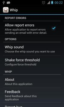 Whip apk screenshot