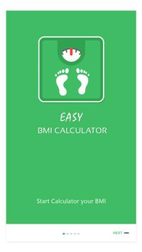 Easy BMI Calculator poster