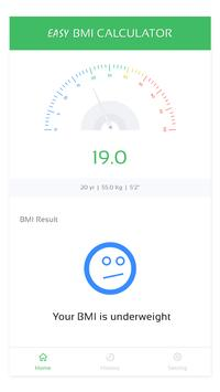 Easy BMI Calculator screenshot 4