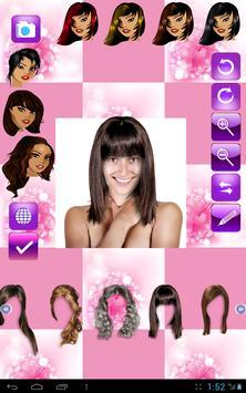 Change Hairstyle screenshot 14