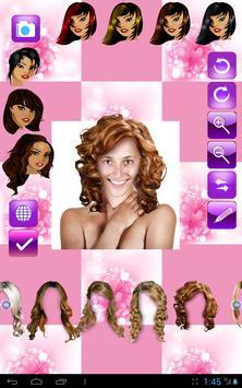 Change Hairstyle screenshot 12