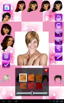 Change Hairstyle screenshot 9