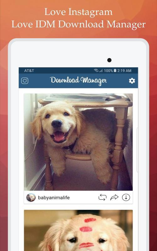 Instagram Manager Tool Ios 8: IDM Download Manager For Instagram安卓下载,安卓版APK