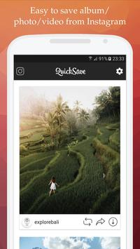Apps android QuickSave for Instagram apk the latest