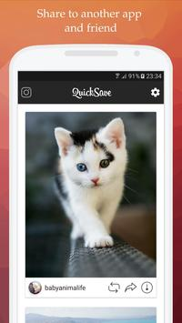 QuickSave for Instagram apk screenshot