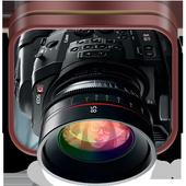 4K Professional DSLR Camera icon