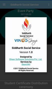 Siddharth Social Service screenshot 7