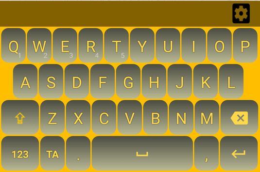 Tamil Keyboard - Thanglish Typing poster