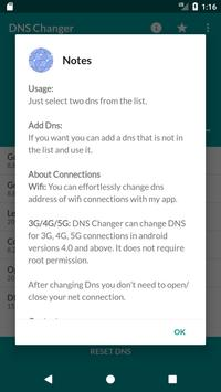 Free DNS Changer (No Root 3G/WiFi) screenshot 1