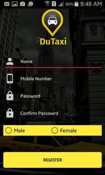 Du Taxi screenshot 1