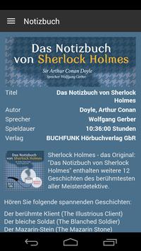 Notizbuch von Sherlock Holmes screenshot 2