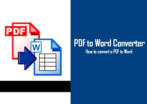 Free PDF to Word Converter poster