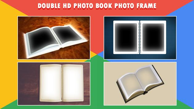 HD Photo Book Dual Photo Frame poster