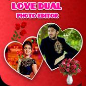 Love Dual Photo Frame icon