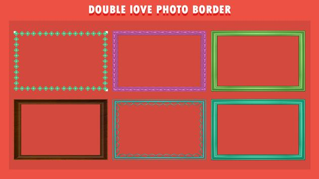 Romantic Love Dual Photo Frame screenshot 2