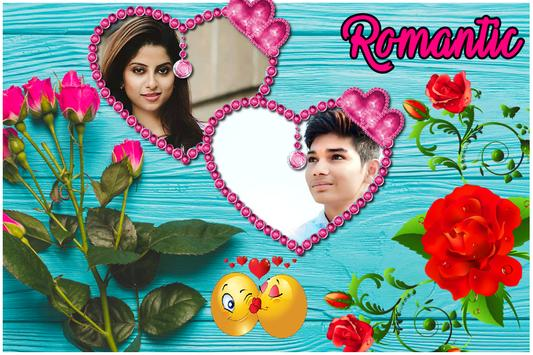Romantic Love Dual Photo Frame screenshot 4