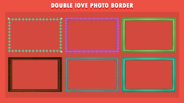 Water Drop Dual Photo Frame screenshot 1