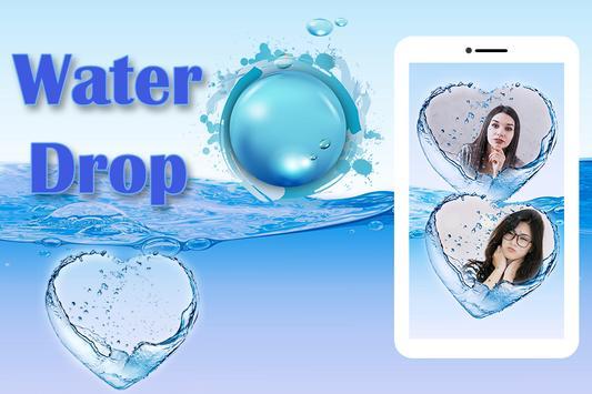 Water Drop Dual Photo Frame screenshot 3