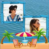 Water Dual Photo Frame icon