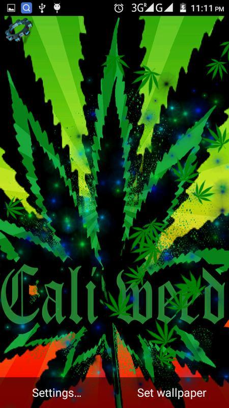 Marijuana Weed Live Wallpaper APK Baixar