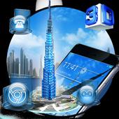 3D Burj Khalifa Theme icon