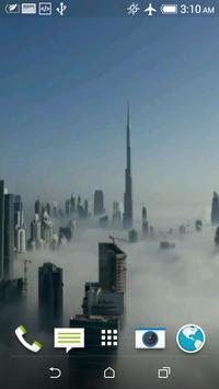 Dubai Fog Video Wallpaper poster