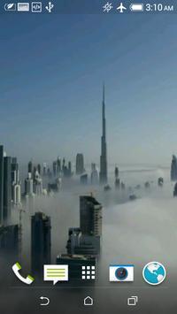 Dubai Fog Video Wallpaper screenshot 1