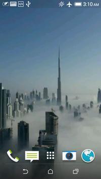 Dubai Fog Video Wallpaper screenshot 2