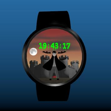 Spooky Castle Watchface screenshot 4