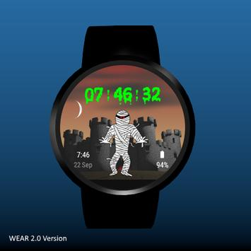 Spooky Castle Watchface screenshot 5
