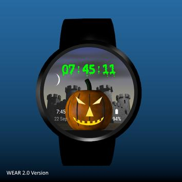 Spooky Castle Watchface screenshot 6