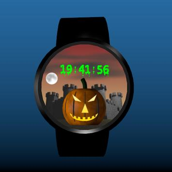 Spooky Castle Watchface screenshot 2