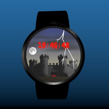 Spooky Castle Watchface screenshot 3