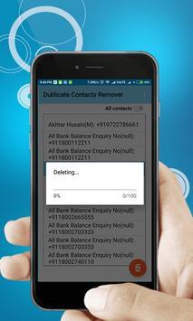 Dublicate Contact Remover Duplicate free apk screenshot