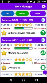 Work Manager apk screenshot