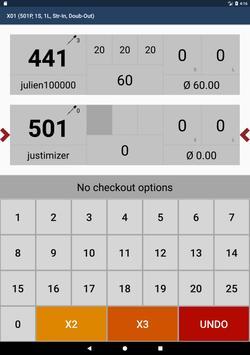 Pro Darts Scoreboard apk screenshot