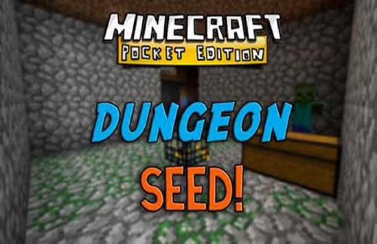 Dungeon Seed For Minecraft PE poster