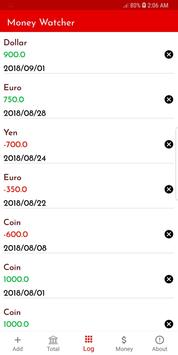 Money Watcher screenshot 4