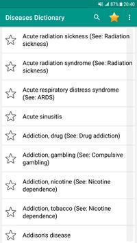 Disorder & Diseases Dictionary Offline screenshot 5